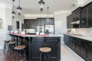 sr kitchen black
